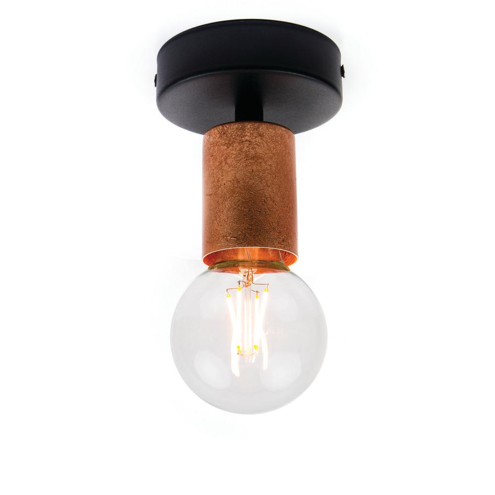 Medené stropné svetlo Bulb Attack Cero