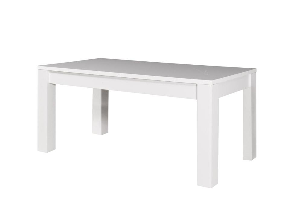 Jedálensky stôl Fabio 05   Farba: biely lesk