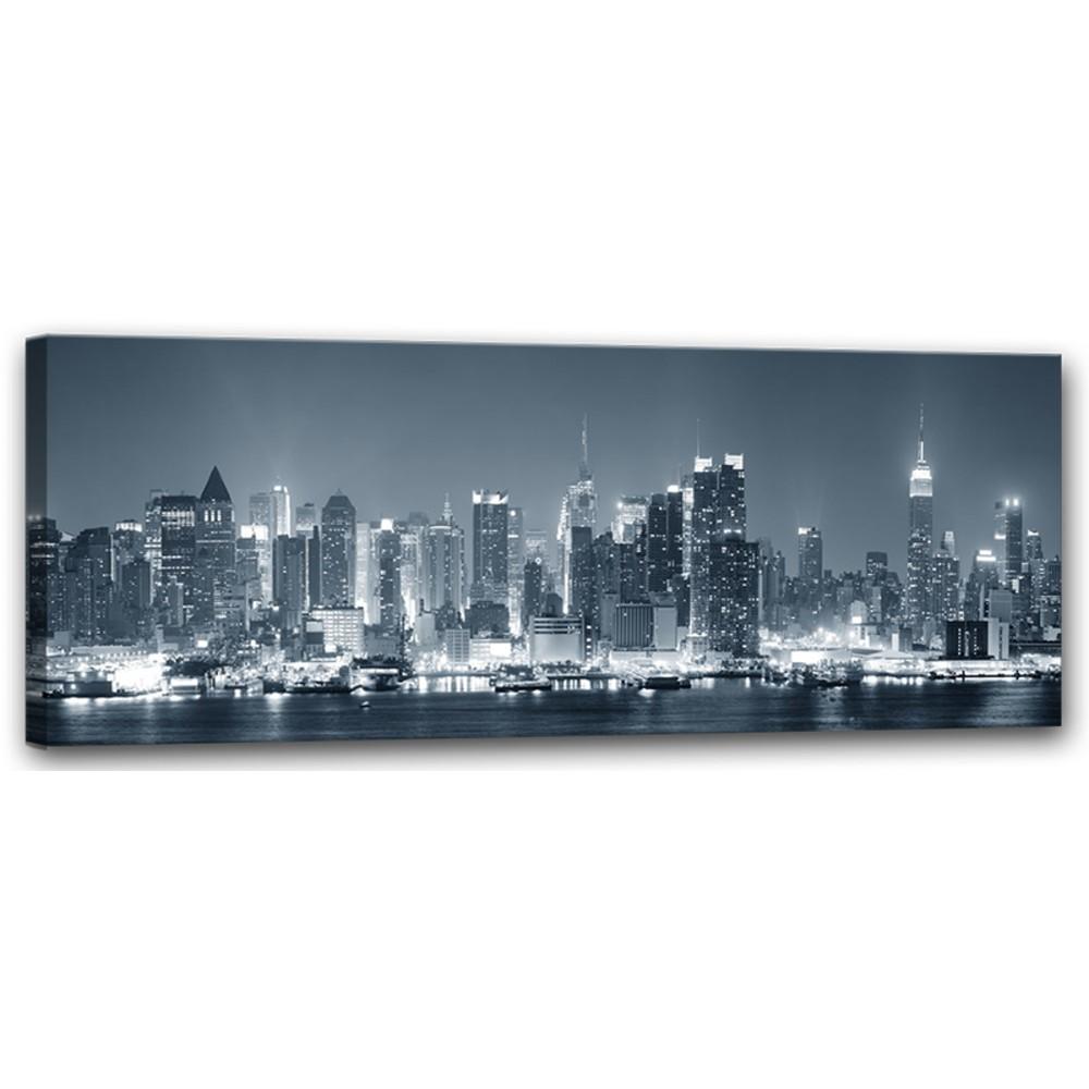 Obraz Styler Canvas Manhattan, 60×150 cm