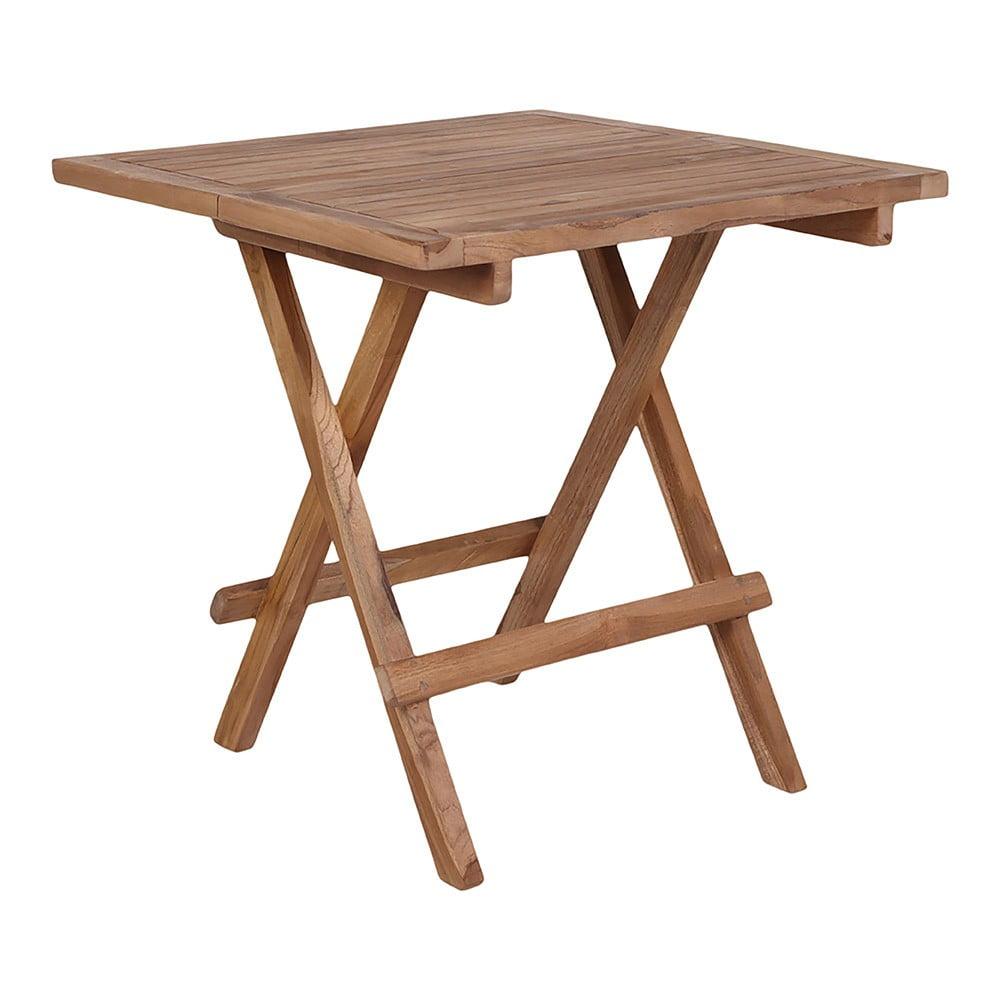 Vonkajší odkladací stolík z teakového dreva House Nordic Bilbao, dĺžka 50 cm