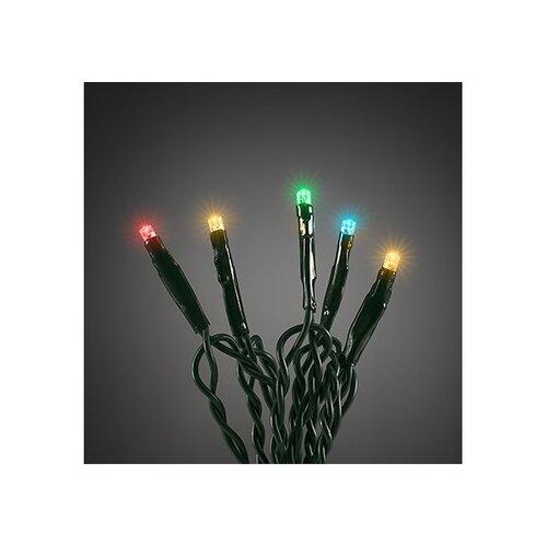 Vianočná svetelná reťaz 120 LED, 18 m, farebná