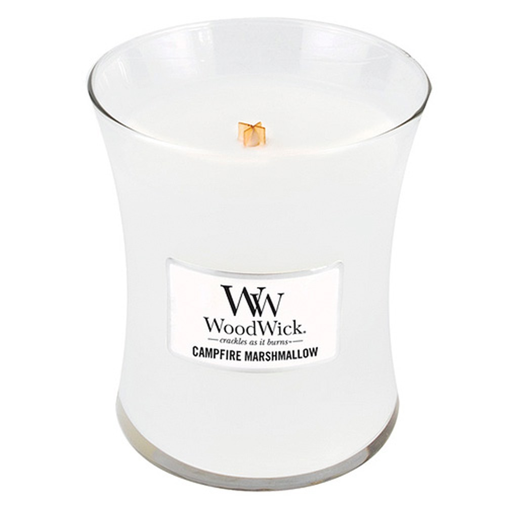 Vonná sviečka WoodWick Pečené marshmallows, 275 g, 60 hodín