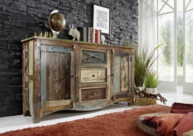 SPIRIT komoda #05 lakované staré indické drevo