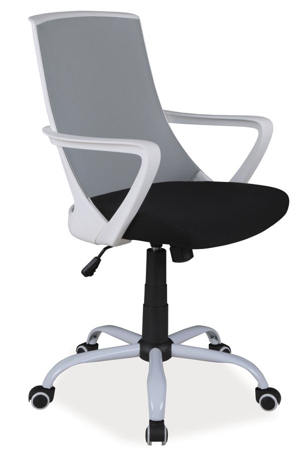 Kancelárske kreslo Q-248   Farba: Sivá / čierna