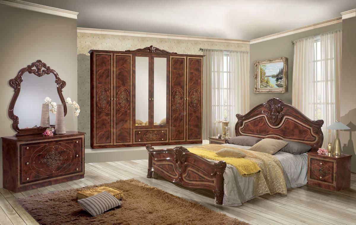 Spálňa AMALFA - hnedá