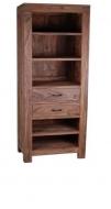 Furniture nábytok  Masívna knižnica  z Palisanderu  Mehrbán  60x40x200 cm