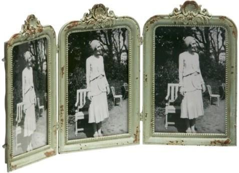 Set 3 ks fotorámikov BUCKY - antická zelená