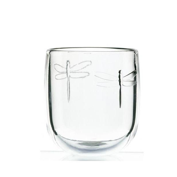 Sklenený pohár La Rochère Libellules, objem 280ml
