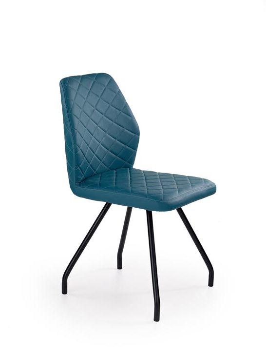 Jedálenská stolička K242 (tyrkysová)