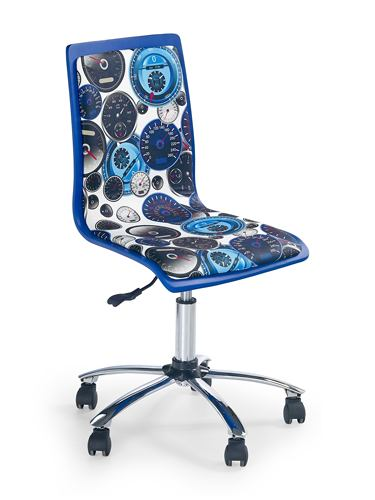 Kancelárska stolička FUN-8 modrá