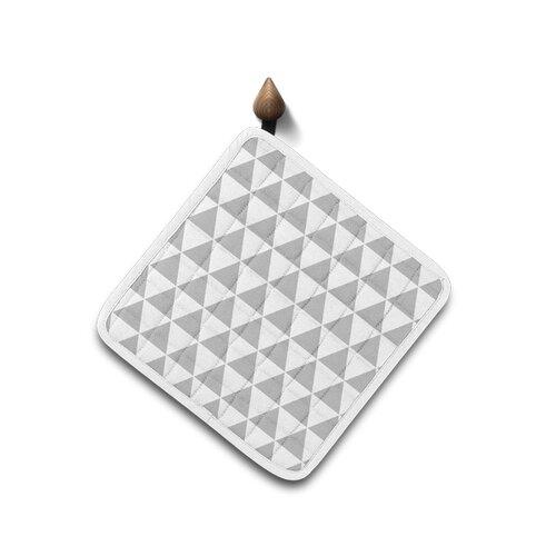 Domarex Kuchynská podložka Home Chef sivá, 20 x 20 cm
