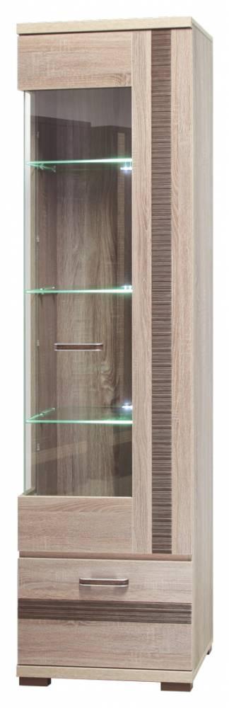 Vitrína Orest OR 8 J (pravá, s osvetlením)