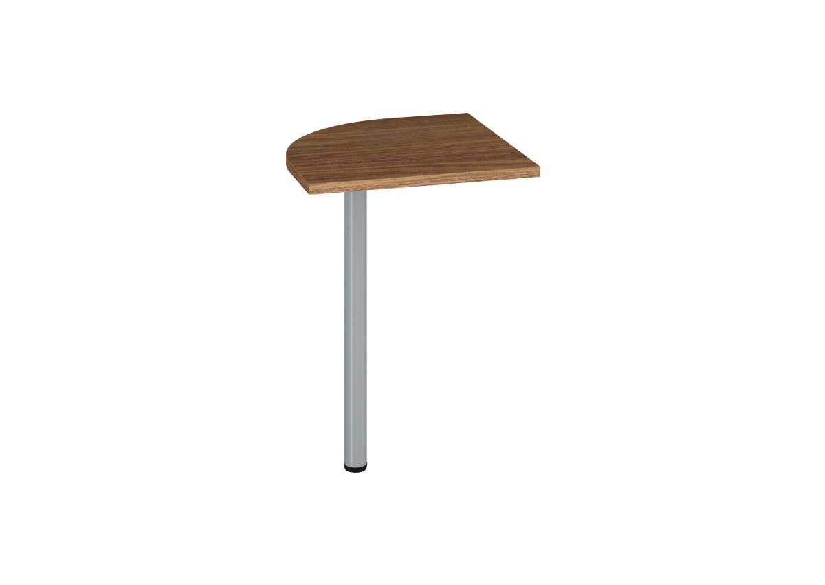 Prídavný kancelársky stôl OPTIMAL 21 / orech prírodný