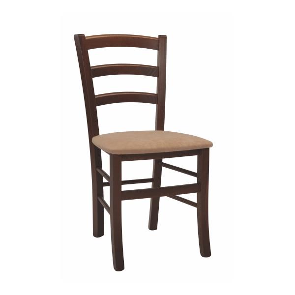 Stolička PAYSANE látka s čalúneným sedadlom