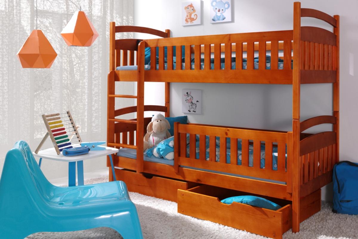 Nabytok-Bogart Poschodová posteľ ania ii 90 x 190