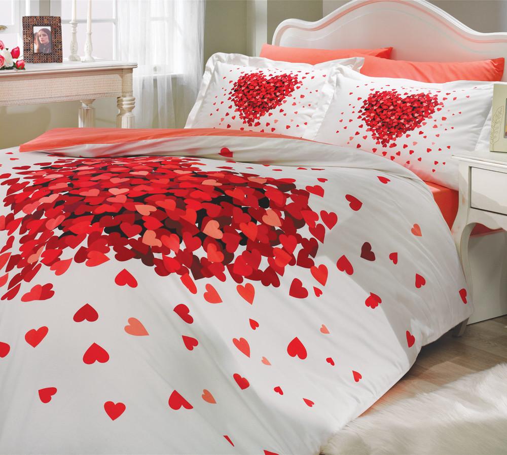 Obliečky s plachtou Juana Red, 200x220cm