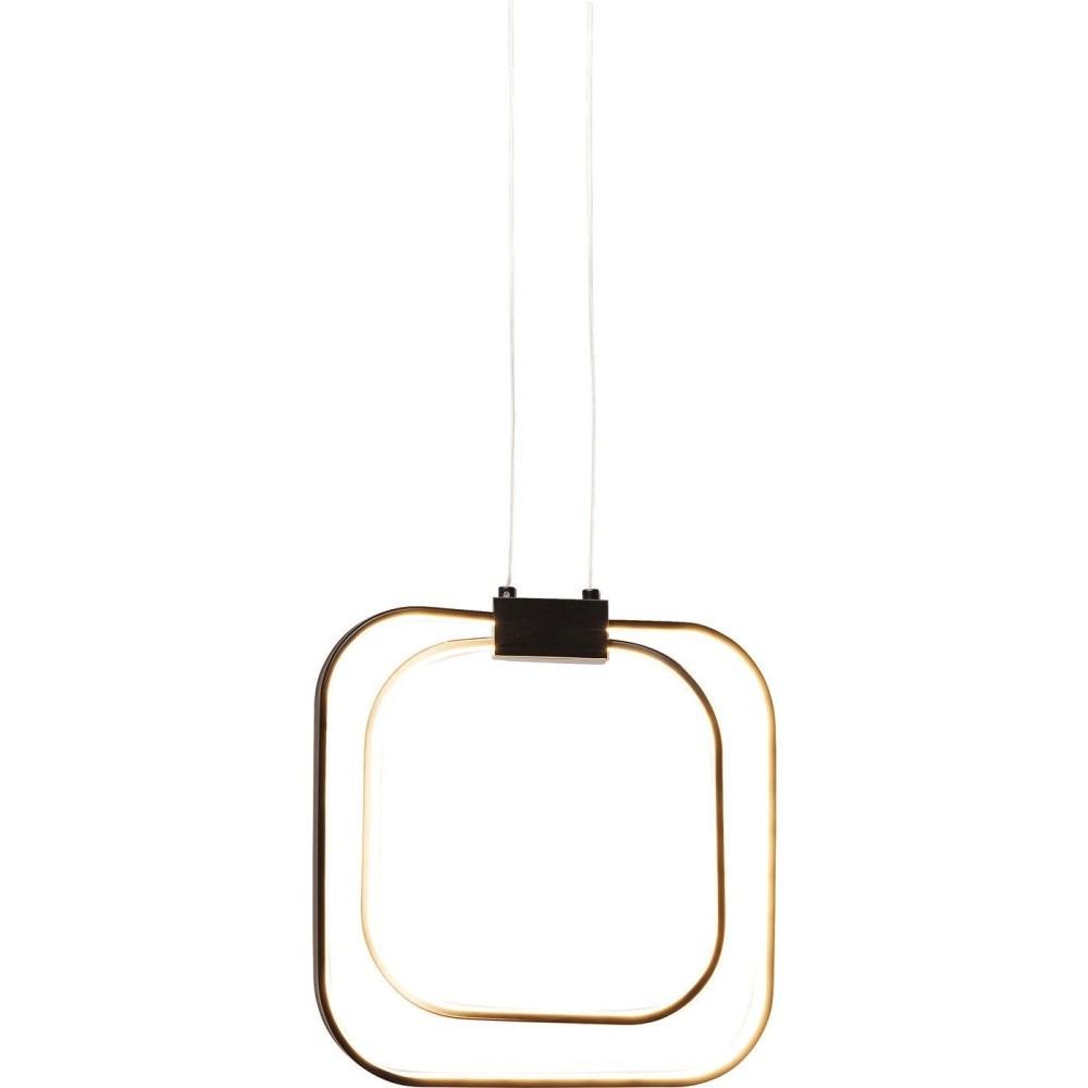 Čierne stropné LED svietidlo Kare Design Cubes Black