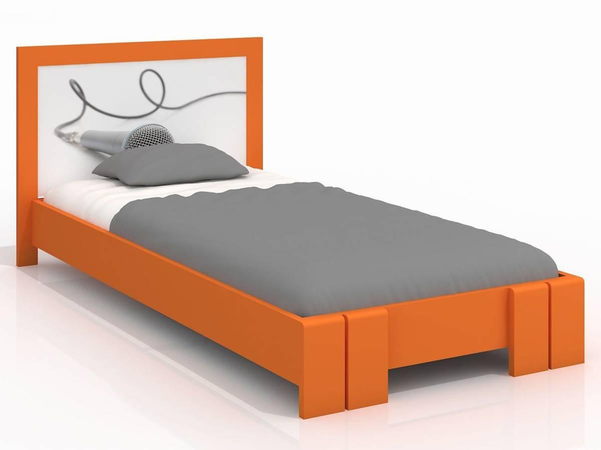 Jednolôžková posteľ 120 cm Naturlig Kids Manglerud (borovica) (s roštom)
