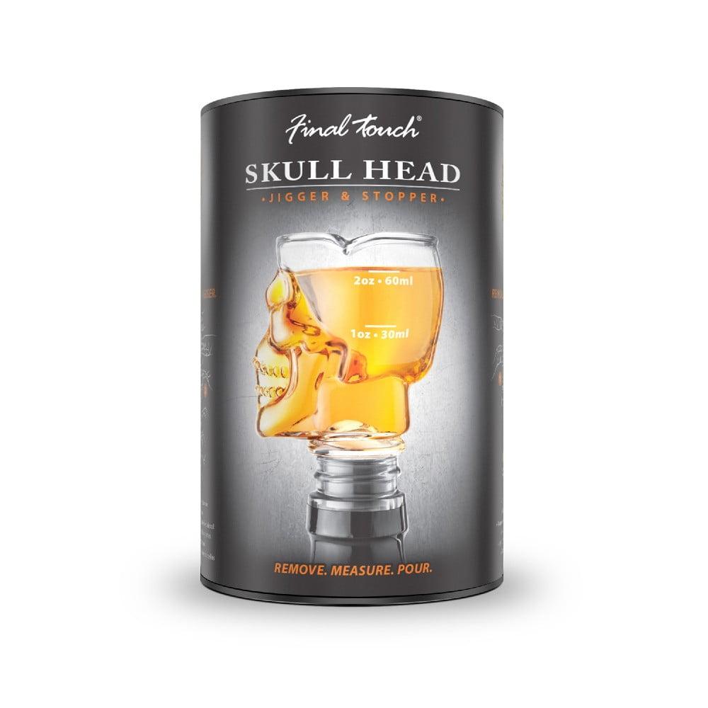 Nálevka na fľašu Original Products Skull