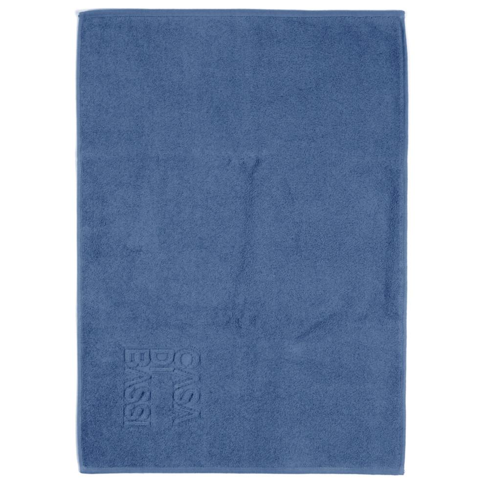 Modrá bavlnená kúpeľňová predložka Casa Di Bassi Basic, 50x70cm