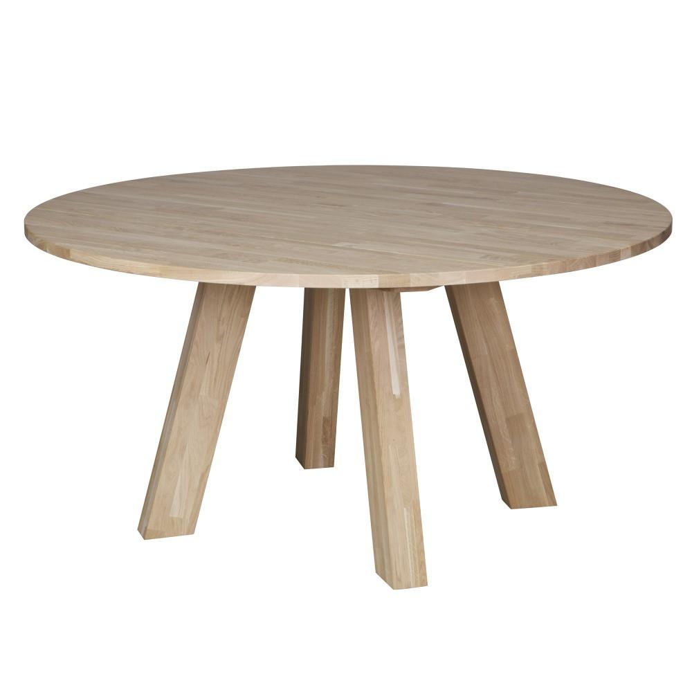 Jedálenský stôl z dubového dreva De Eekhoorn Rhonda, Ø 150cm