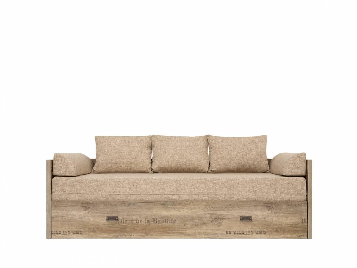 Rozkladacia posteľ 80 až 160 cm Malcolm LOZ/80/160