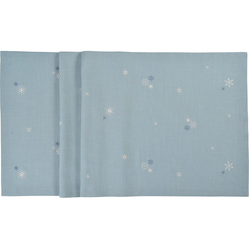 Sander Obrus Crystalized modrá 85 x 85 cm