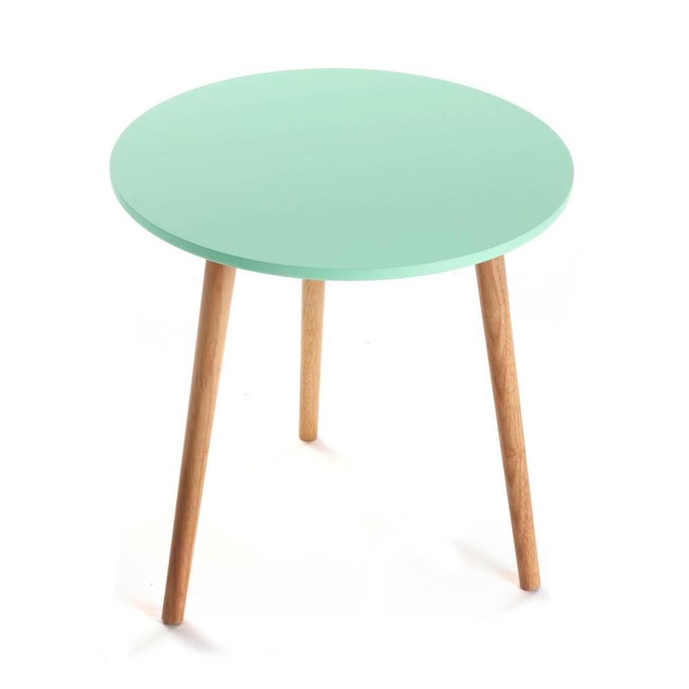 Odkladací stolík Auxiliary Turquoise, 50 cm