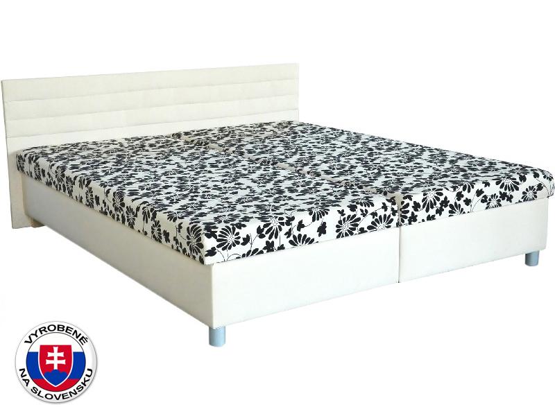 Manželská posteľ 160 cm Etile (s pružinovým matracom)