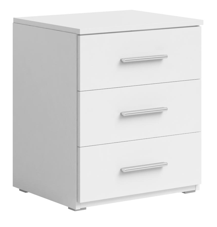 Nočný stolík Typ 22 (biela) *výpredaj