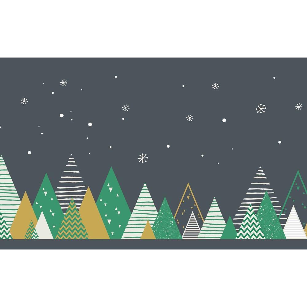 Kuchynský behúň Crido Consulting Festive Forest, dĺžka 100 cm