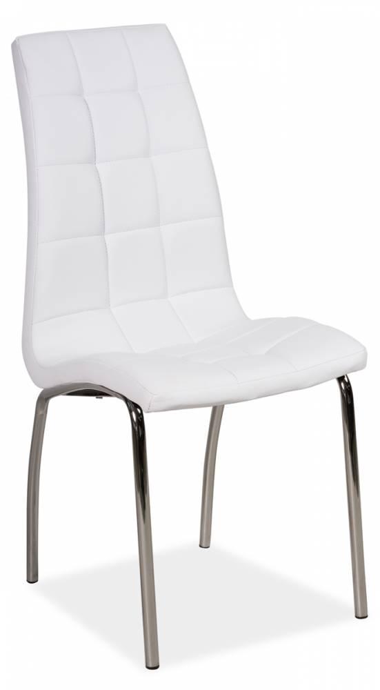 Jedálenská stolička HK-104, biela