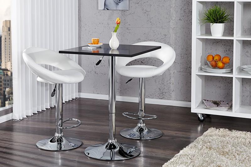 Bighome - Barový stôl MOVE - čierna