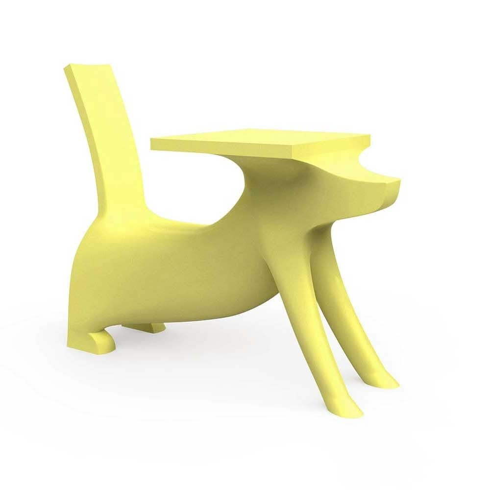 Žltá detská stolička Magis Le Chien