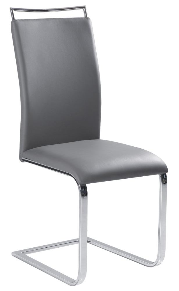 Jedálenská stolička H-334 šedá