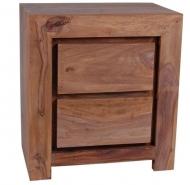 Furniture nábytok  Masívny nočný stolík z Palisander  Núrbachš  55x35x60 cm
