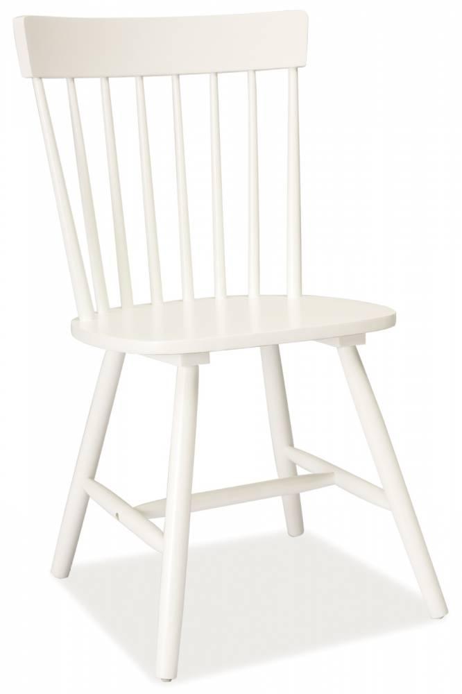 Jedálenská stolička Alero (biela)