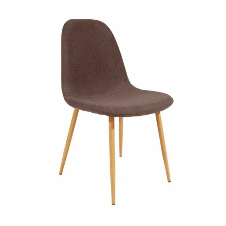 Jedálenská stolička Lega (tmavohnedá)