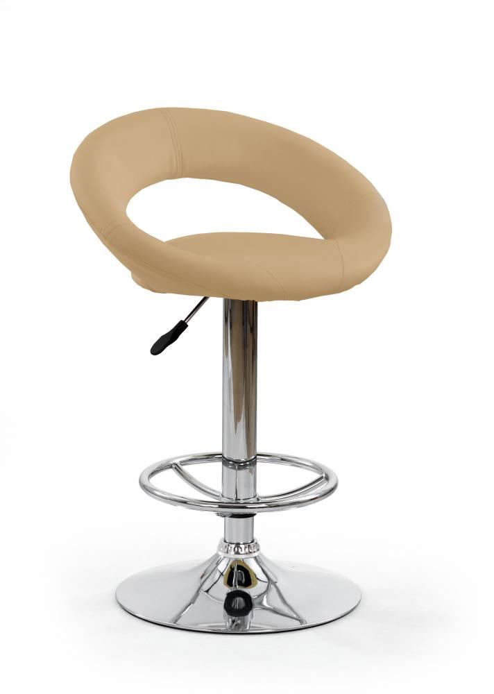 Barová stolička H-15 (tmavobéžová)