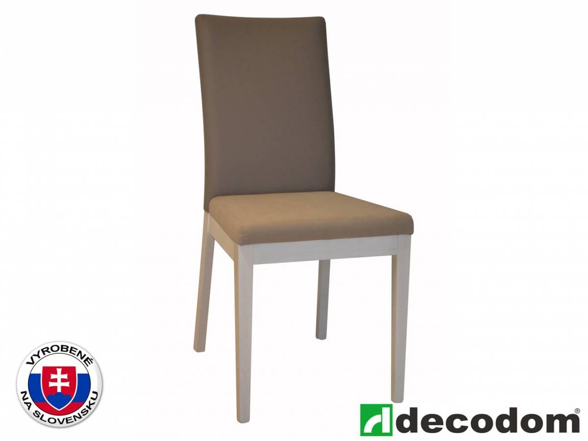 Jedálenská stolička Decodom Venda (pino aurelio + hnedá)