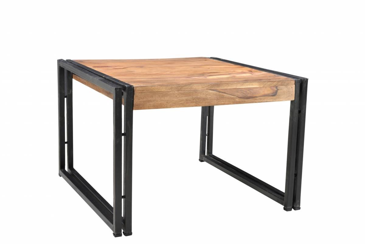 Konferenčný stolík COLOMBIA 60x60 cm - hnedá