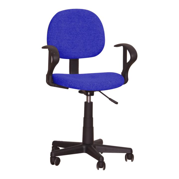 Kancelárska stolička TC3-227  L2505 MODRA LATKA