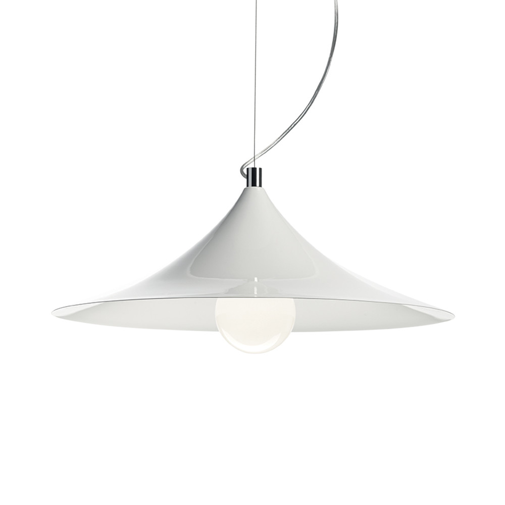 Biele závesné svietidlo Evergreen Lights Lamp