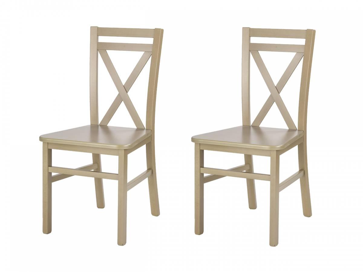 Set 2 ks. stoličiek Dariusz 2 (dub sonoma) *bazár