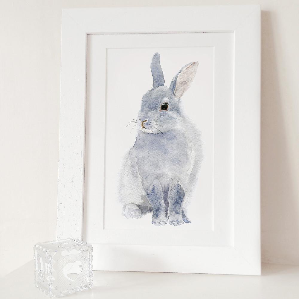 Plagát Bunny A3