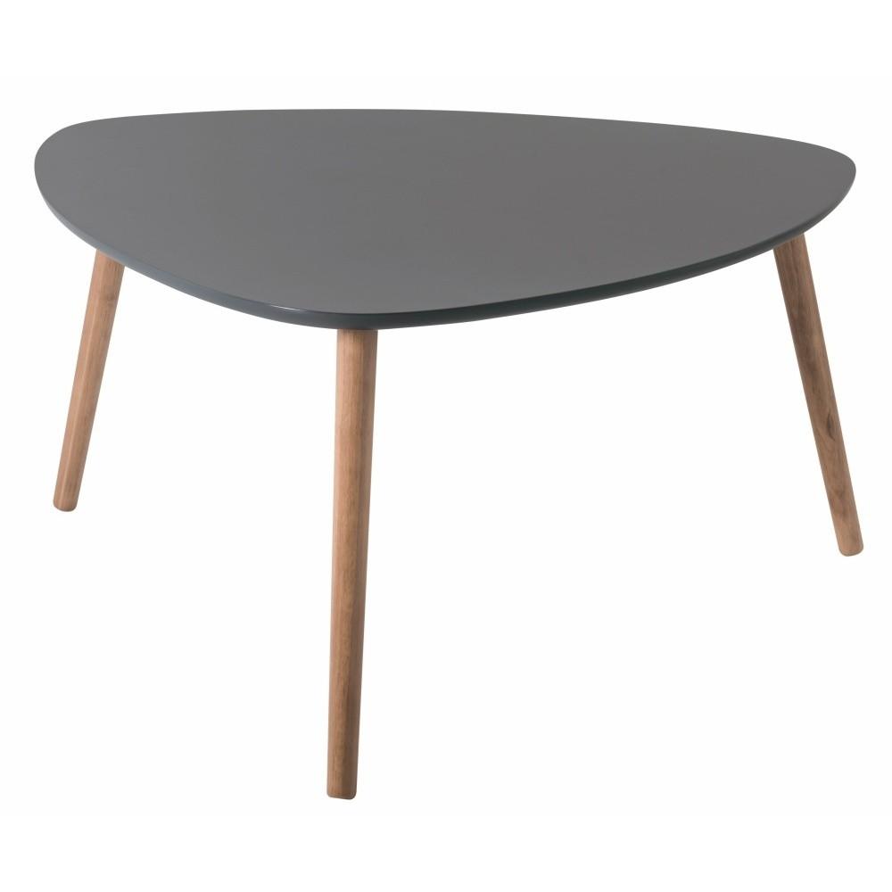 Sivý konferenčný stolík Nomad