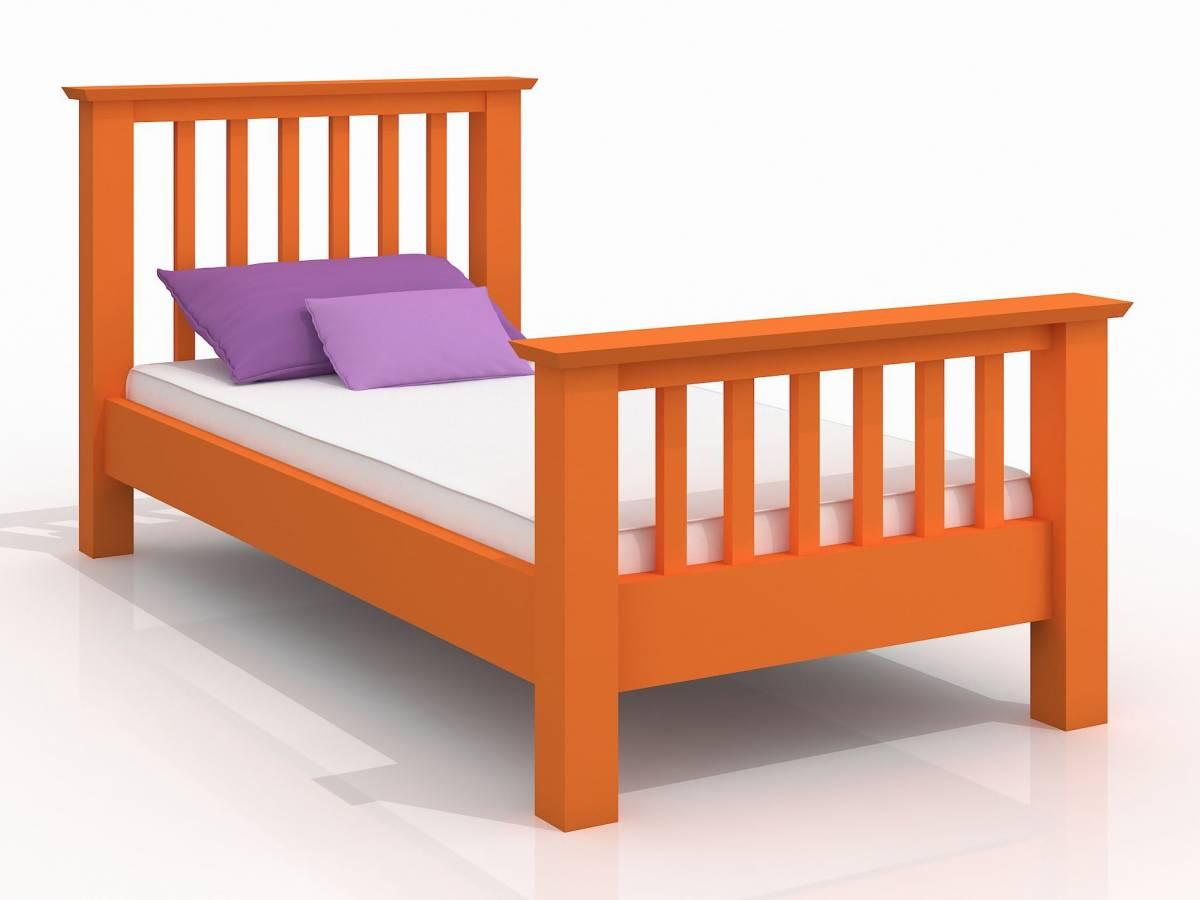 Jednolôžková posteľ 90 cm Naturlig Kids Leikanger (borovica) (s roštom)