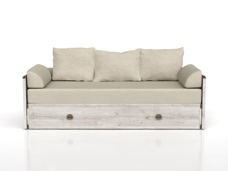 Rozkladacia posteľ 80 až 160 cm INDIANA JLOZ 80/160 (Borovica Canyon) *výpredaj