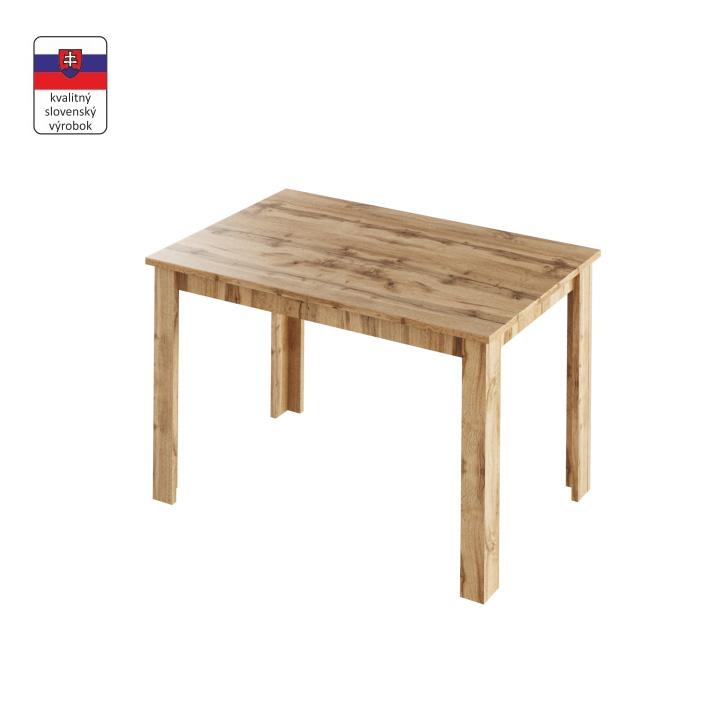 TEMPO KONDELA Jedálenský stôl, dub wotan, LAURENCI