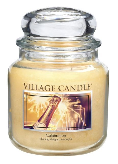 Village Candle Vonná svíčka ve skle, Oslava - Celebration, 397 g, 397 g
